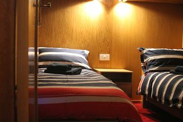 Twin En-suite Cabins