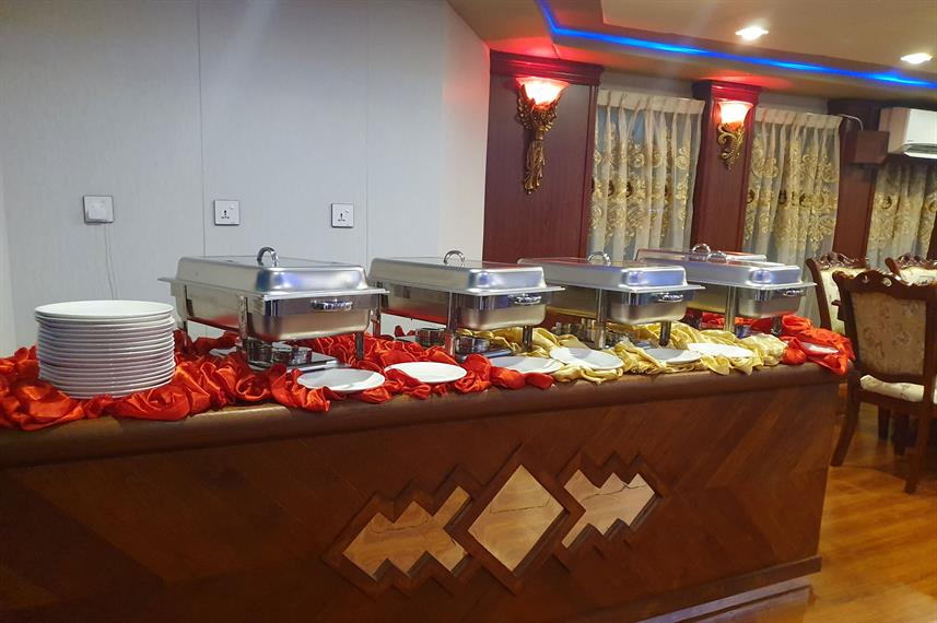 Buffet Area - Princess Sara
