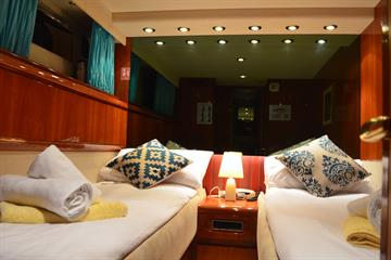 Twin or Double Cabins
