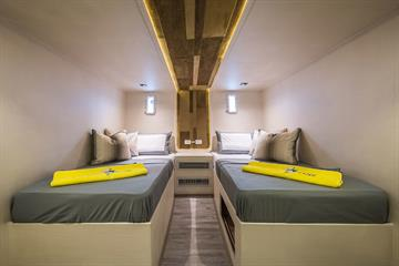 Single-bed Cabins Lower Deck